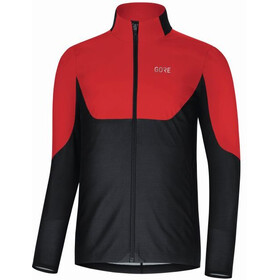 GORE WEAR R5 Gore Windstopper Camisa Manga Larga Hombre, rojo/negro